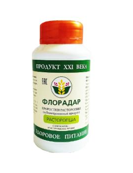 Флорадар - сублимат проростков и ростков «Расторопша»