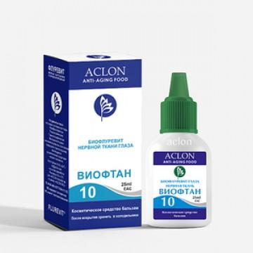 Виофтан 10 Биофлуревит зрительного нерва глаза