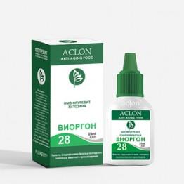 Виоргон-28 Препарат микроразведения из панциря краба